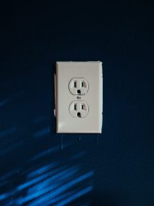 A photo (by Brian Patrick Tagalog on Unsplash) of a double US electric plug socket
