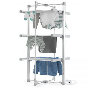 The Dry:Soon heated airer - a very cost-effective way to dry clothes