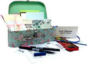 A caligraphy set for children - a great unique Christmas gift idea