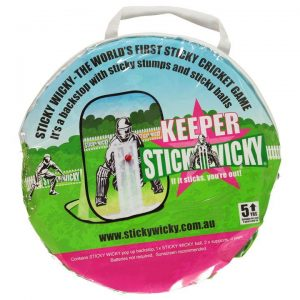 The Sticky Wicky game - a great cricket game for kids with no more arguments!