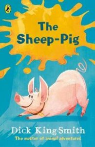 The cover of The Sheep Pig book