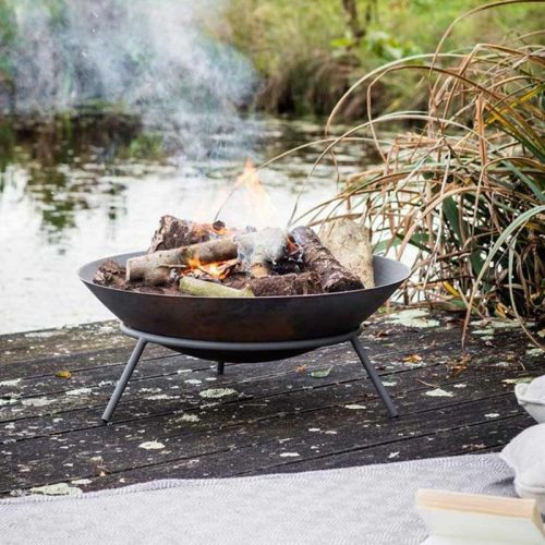 A cheap 2ft firepit brazier - available from Etsy